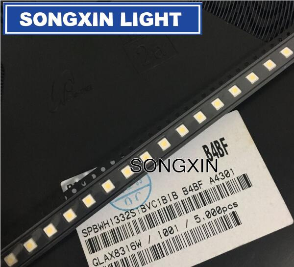 Светодио дный Подсветка высокое Мощность светодио дный 1 Вт 3537 3535 100LM холодный белый ЖК-дисплей Подсветка для ТВ 3 В Применение SPBWH1332S1BVC1BIB для SAMSUNG