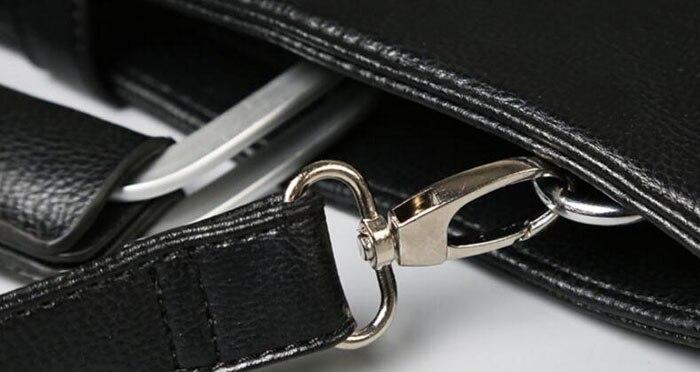 0d9cbf46c2c ... Handbags Black Pu Leather Laptop Briefcase Men Tote Work Bag A4 Large  Capacity Hand Bag Bolsas. Size 36cm(Length)×28cm(Height). 470 471 469 468  467 464 ...