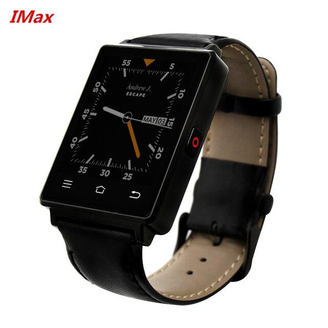 Новое Прибытие 1 Г RAM 8 Г ROM Quad Core 3 Г mtk6580 Smart Watch № 1 D6 Android 5.1 Износ WiFi GPS Smartwatch 1 d6 Fm-радио вах