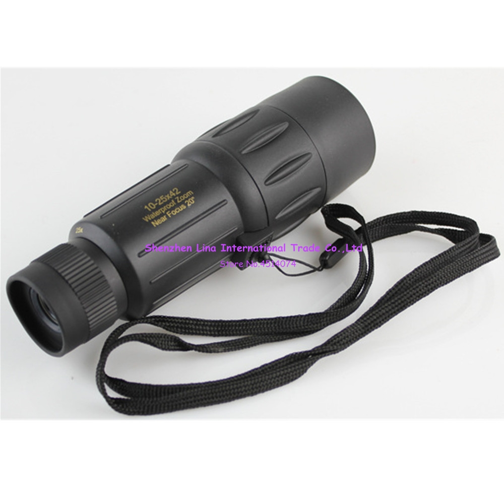 Visionking SWD 10 25X42 HD High Definition Night Vision นาฬิกาแว่นตาอินฟราเรดหลอดเดียวซูมกล้องโทรทรรศน์-ใน กล้องส่องทางไกลตาเดียว/กล้องส่องทางไกล จาก กีฬาและนันทนาการ บน title=