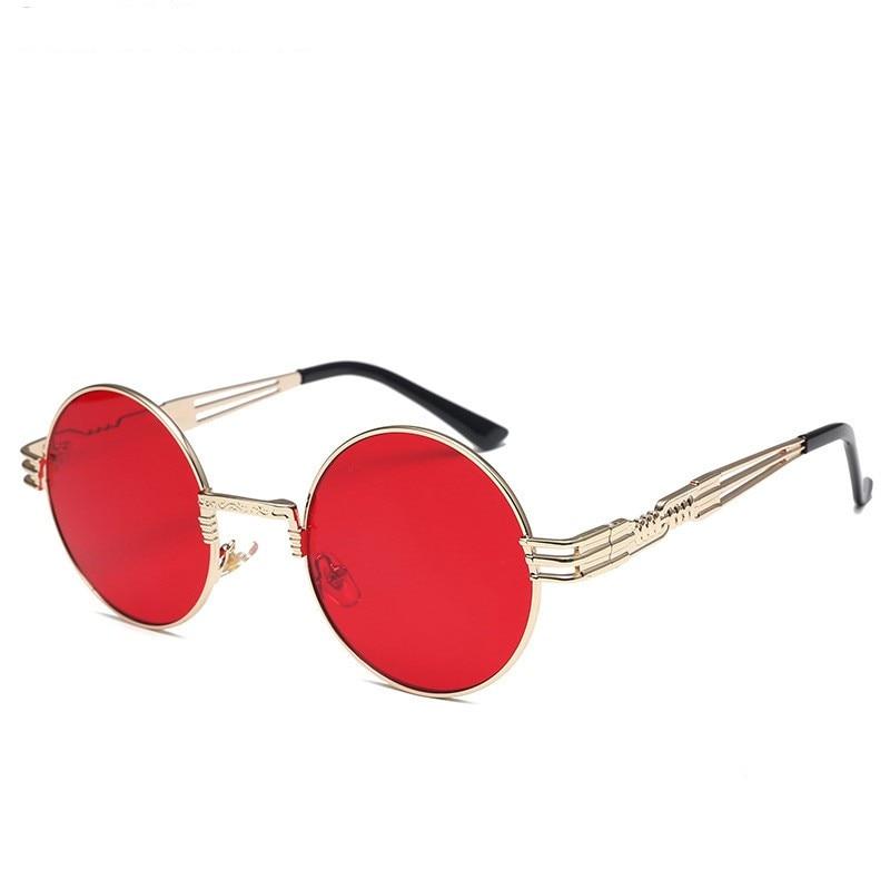 LONSY Übergroße runde Retro-Sonnenbrille Frauen Markendesignerin - Bekleidungszubehör - Foto 6