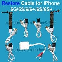 Reparación De Cargador Cable Para el iphone 5G 5C 5S 6 6 Más 6 S Plus Restaurar Batería Active Motherboard Prueba de Reparación herramienta