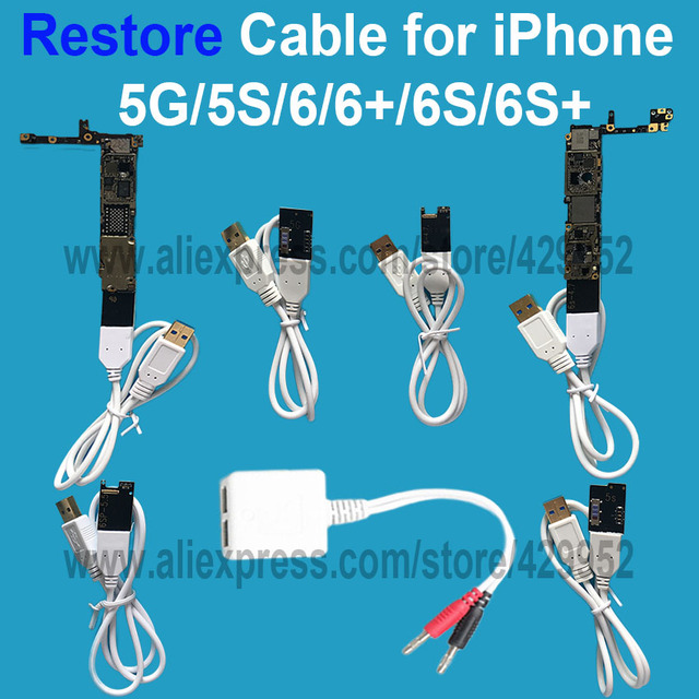 Repair Power Charger Wire Cable For iPhone 5G 5C 5S 6 6Plus 6S Plus ...