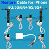 Repair Power Charger Wire Cable For iPhone 5G 5C 5S 6 6Plus 6S Plus Restore Battery Active Motherboard Testing Repairing Tool