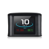 Hotselling P10 Car GPS OBD Computer Car Speed HUD Car styling Universal Auto P10