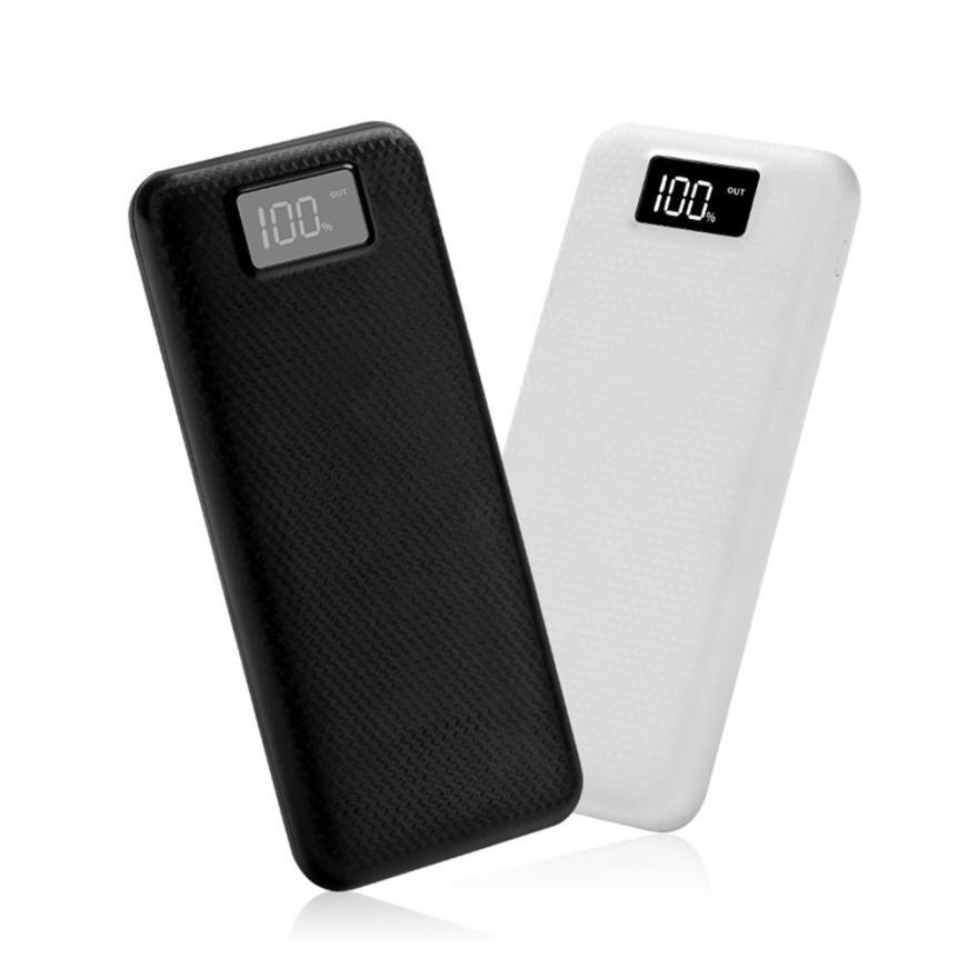 5V 2A Dual USB 2 Ports Battery Charger Box 8X 18650 DIY Kit Power Bank Case Jan 30