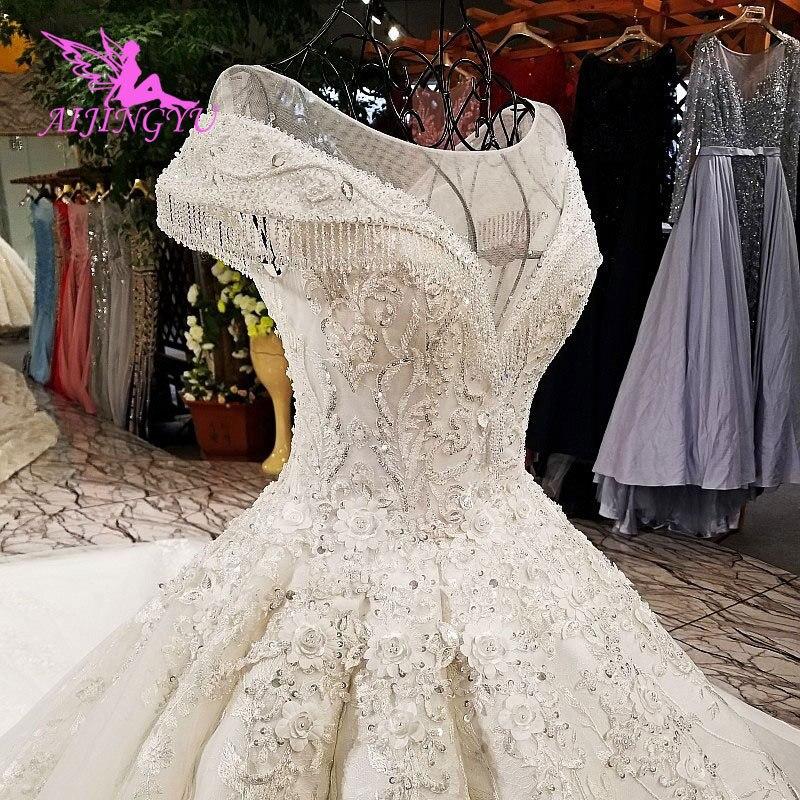 AIJINGYU Weddimg Dresses Contemporary