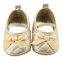 2017 New Style Infantil Baby Girl Shoes Butterfly-knot Elastic band Solid Shoes First Walkers baby sneakers shoes M1
