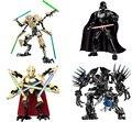 2016 Nuevos Bloques de Darth Vader de Star Wars Figuras de Acción de Construcción Juguetes de Los Ladrillos Compatible con Lepin General Grievous Starwars