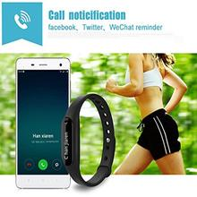 Bluetooth Wristband with OLED Display and Heart Rate Monitor,Smart Watch Bracelet Fitness Wearable Activity Tracker