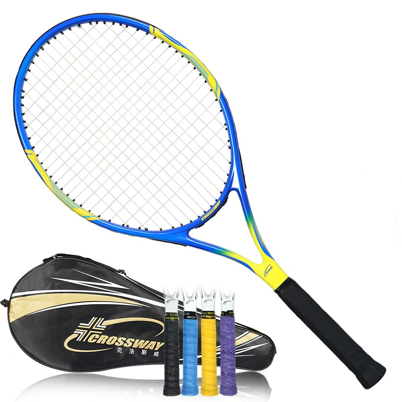 tenis masculino Tennis Racket raquete de tennis Carbon Fiber Top Material tennis string raquetas de tenis-in Tennis Rackets from Sports & Entertainment    1