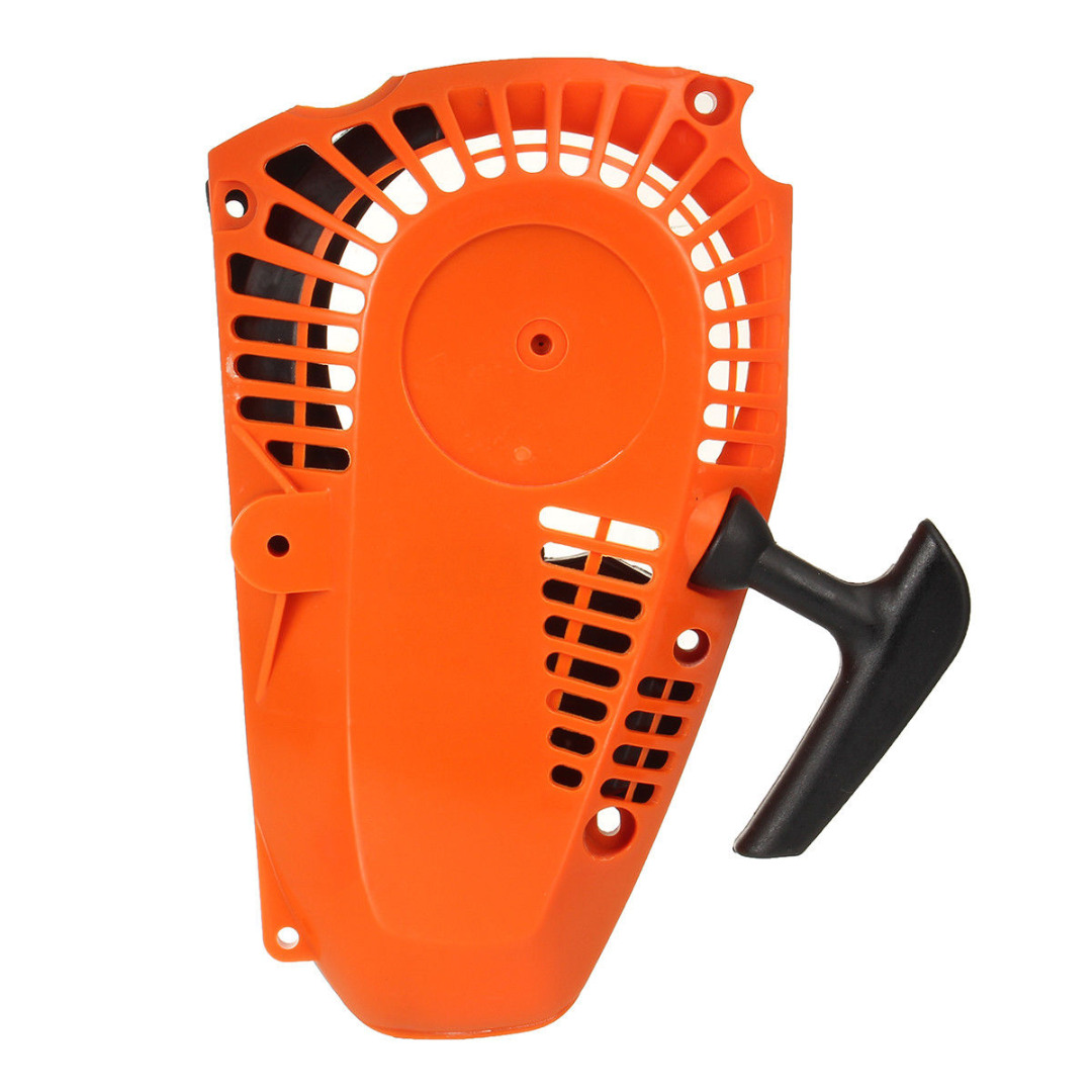 FGHGF 1Pcs Top Handle Recoil Starter Pull Start For 25cc 26cc 2500 Chainsaw Engine Motor clutch fits for 25cc 25cc 2500 chain saw spare parts