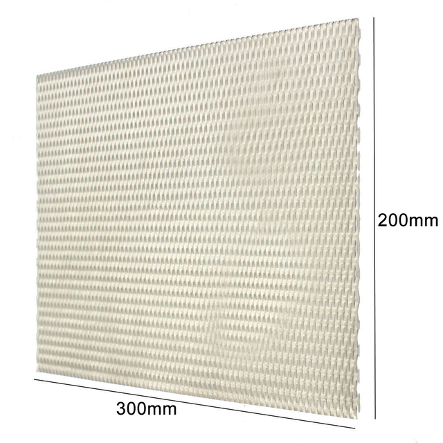 1pc Mayitr Practical Metal Titanium Mesh Sheet Heat Corrosion Resistance Silver