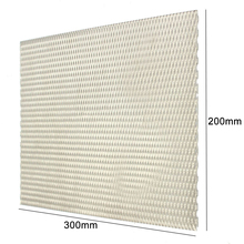 1pc Mayitr Practical Metal Titanium Mesh Sheet Heat Corrosion Resistance Silver Perforated