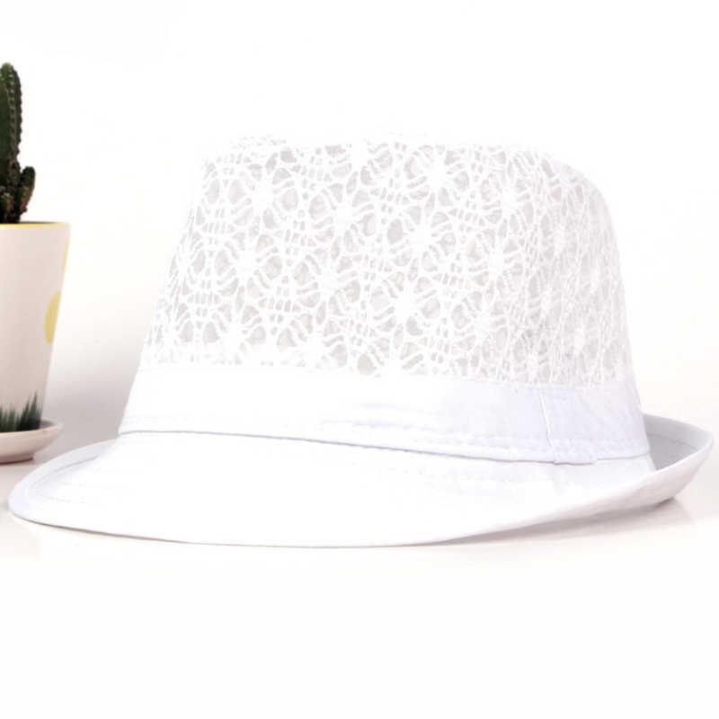 ... HT1581 Spring Summer Men Women Hat Unisex Wide Brim Fedora Hat Neon  Colors Derby Trilby Jazz ... ace971a3380c
