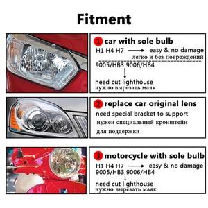 Image 3 - ROYALIN Bi xénon Mini projecteur de voiture H1 lentille avec E46 R écrans, rénovation externe, phares pour BMW M3 E90/E91/E92/E93 ZKW E46
