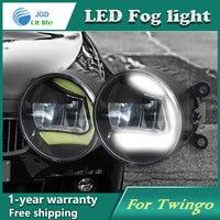 Super White LED Daytime Running Lights Case For Renault Twingo 2015 Drl Light Bar Parking Car