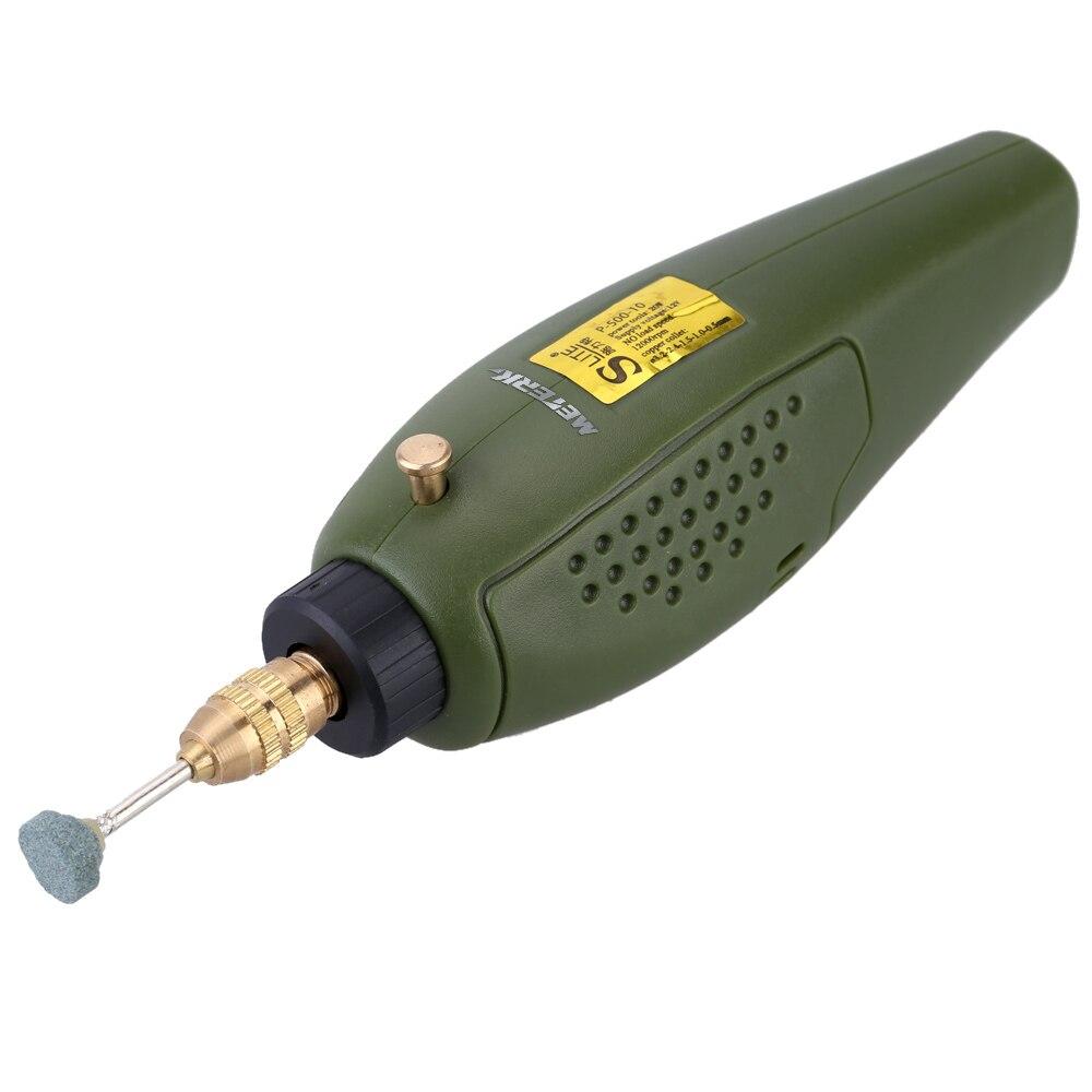 Meterk Mini dremel Bohrer Elektrische Grinder engraver Schleifen werkzeug Set 12V DC Gravur maschine für Fräsen Polieren Schneiden Kit