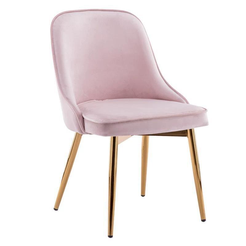 Скандинавский светильник роскошный стул для столовой сетка красный стул Макияж дизайн ногтей Металл домашний спальня стул Кофейня стул - Цвет: VIP 4