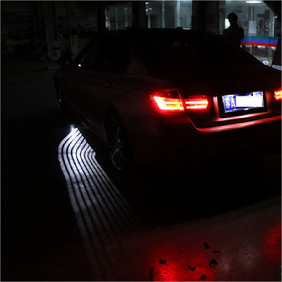 Trim LED Ghost Courtesy Angel Wing projector Light For BMW
