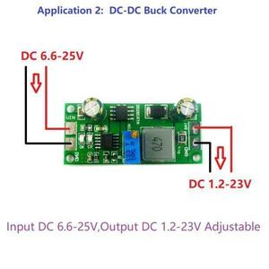 Image 5 - 2in 1 Batterie Ladegerät & DC DC Buck Converter 3v 5v 3,3 v 3,7 V 4,2 V 7,4 V 12V F Lithium li auf LiFePO4 Batterien lade AUTO Solar