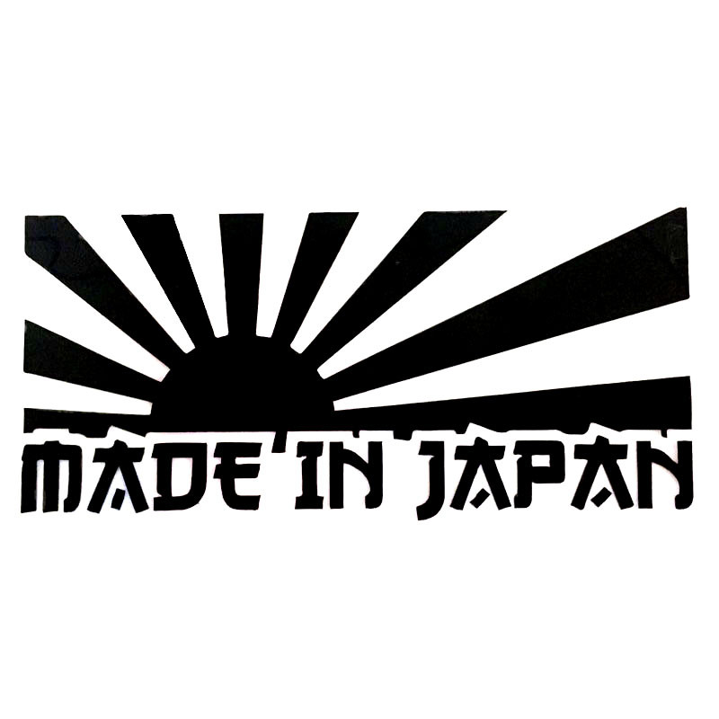 136cm made in japan jdm car stickers japanese style car window tail decals in car stickers from automobiles motorcycles on aliexpress com alibaba group