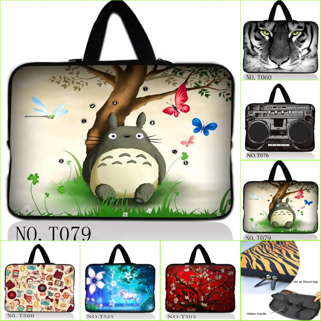 Customized Personality Laptop Bag Sleeve Case 97 101 12 13 14 15 Tas Macbook Pro Air Retina 11 Inch Notebook 156 17 For