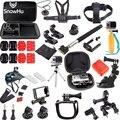 36 в 1 GoPro аксессуары Семья Комплект кадр Камеры + Мини-Штатив + Велосипед руль Держатель + J-крючки для Go Pro HD Hero5 5S 4 3 SJ GS29