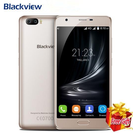 New Blackview A9 Pro Android 7 0 MT6737 2GB 16GB Quad Core Smartphone 5 0Inch Fingerprint