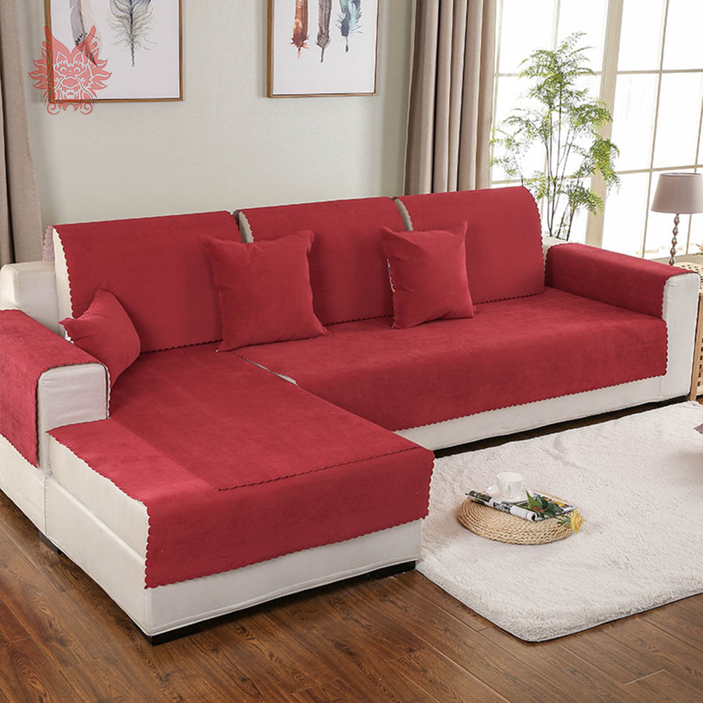 Sectional Couch Covers Waterproof: Aliexpress.com : Buy Red Blue Yellow Waterproof Sofa Cover