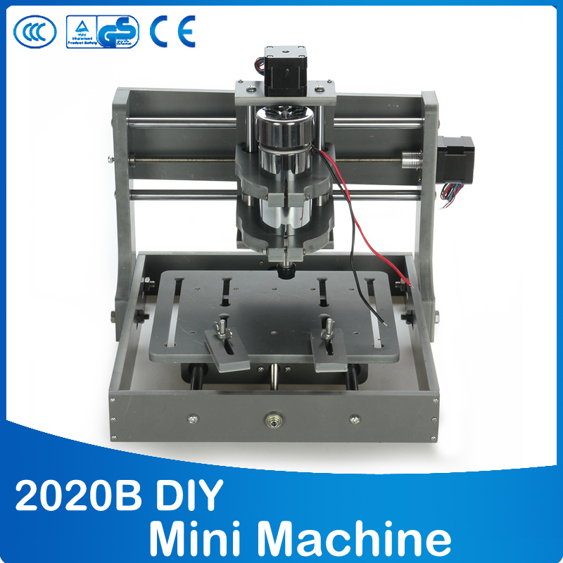 PCB Milling Machine CNC 2020B DIY CNC Wood Carving Mini Engraving Machine PVC Mill Engraver Support MACH3 System стоимость