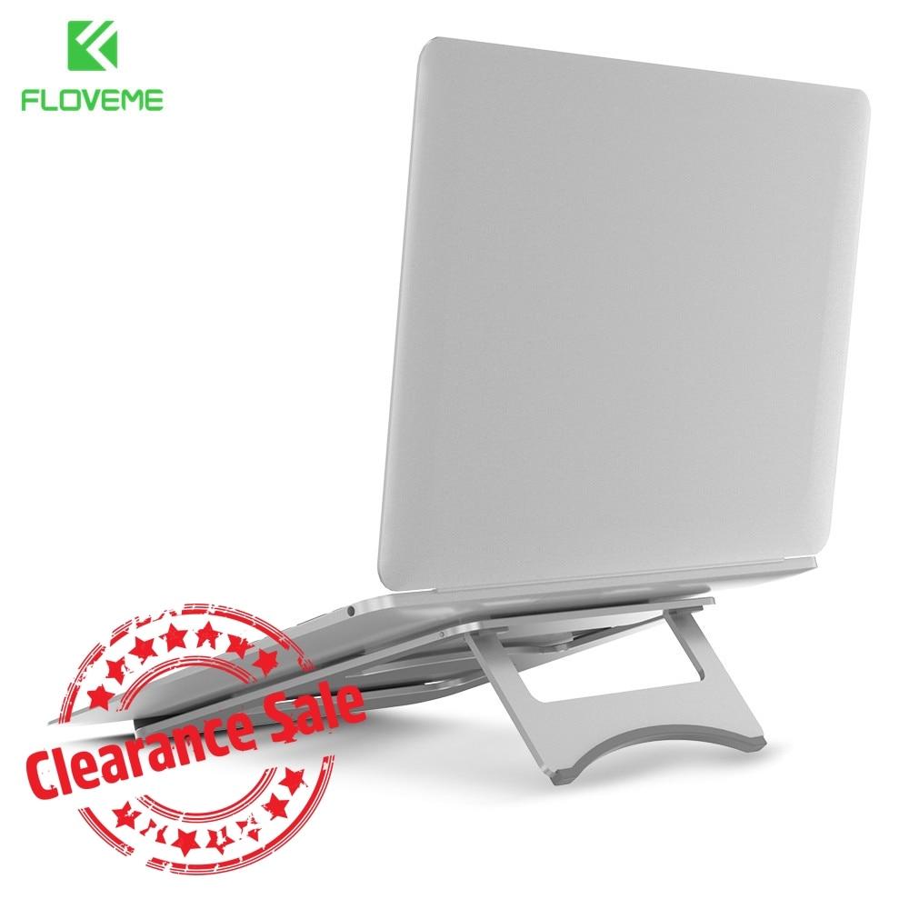 все цены на FLOVEME Tablet Stand Holder For iPad Air 1 2 Pro Portable Laptop Stand For Laptop Macbook Surface Aluminium Alloy Holder онлайн