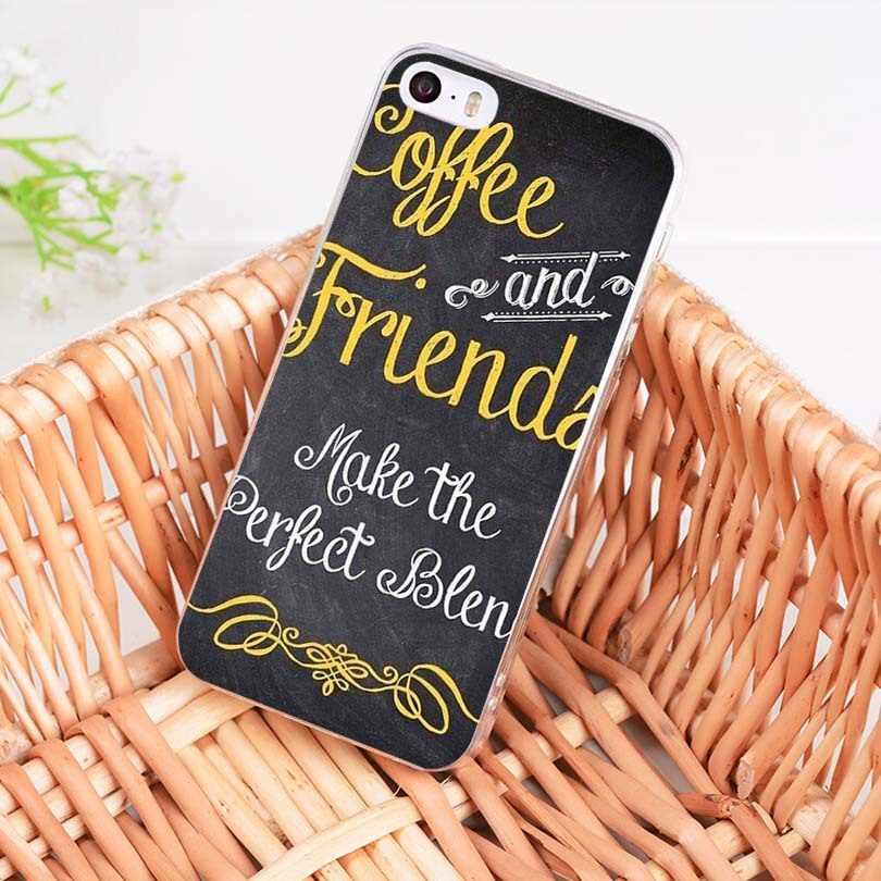 MaiYaCa القهوة يجعل كل شيء أفضل أزياء غطاء إطار هاتف محمول ل فون 8 7 6 6S زائد X XS XR XSMax 10 5 5S SE كوكه شل