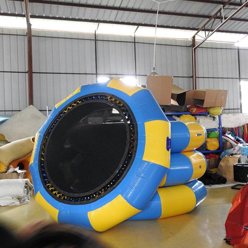 İsti açıq havada şişmə oyuncaqlar Trampolim atlama 2 m Xüsusi - Açıq havada əyləncə və idman - Fotoqrafiya 5