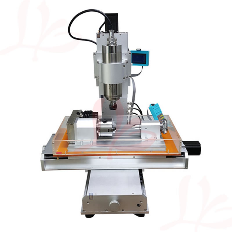 4 Axis CNC 3040 Pillar Type CNC Router 1500W / 2200W Table Column Type Woodworking CNC Engraving Machine