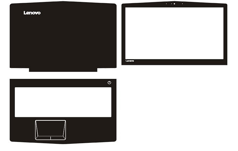 Spezielle Leder Carbon fiber Vinyl Haut Aufkleber Für Neue Lenovo Legion Y520 R720 15,6