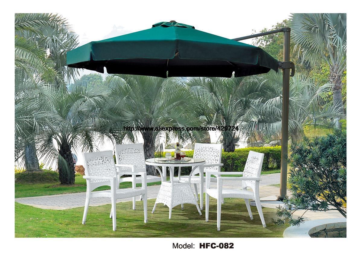 Modern White Rattan Garden Set Low Price Wicket Balcony Furniture Set Swing Pool Rattan furniture Garden Set Table Chair Set