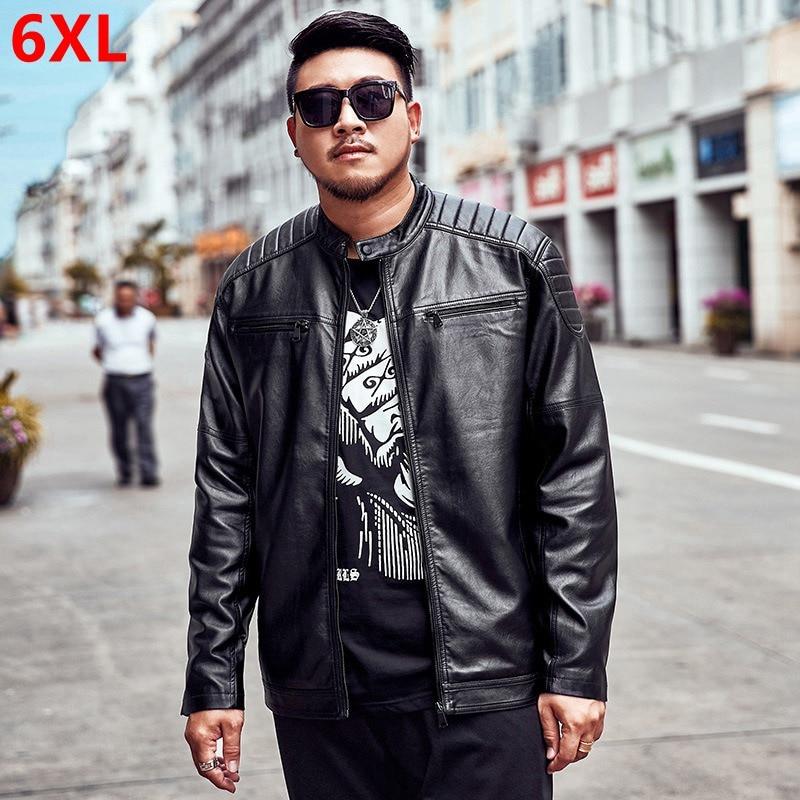 2019 New Large Size L 5XL 6XL 7XL Men s Blue Denim Jacket Spring Loose Large