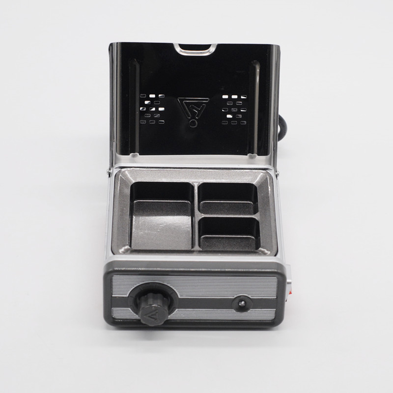 Fournitures de laboratoire chauffe-cire Machine 3-well chauffe-cire analogique trempage Pot pour outil de clinique dentaire