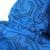 2016 novos Meninos Inverno romper Poliéster Único Breasted meninos roupas de inverno Com Capuz Geométrica azul Bebê Meninos inverno quente snowsuit