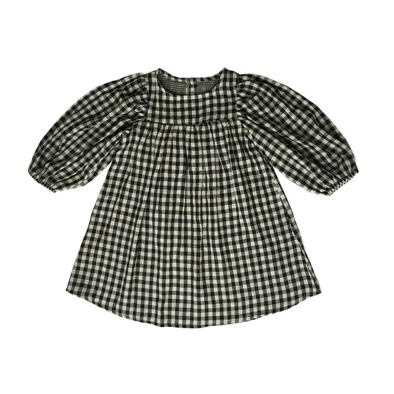 New Girls Autumn 2017 Dress Kids Cotton Dress Children Loose Dress Girls' Comfortable Clothes Toddler Casual Dress,2-14Y,#2264 girls dress autumn new 2018 casual