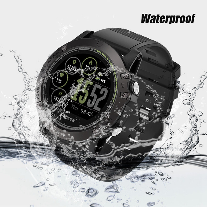 VIBE 3 HR Smart watch IP67 Waterproof 5ATM Heart Rate Monitor 3D IPS Color Display Fitness Tracker Smart Watch For Android IOS стоимость