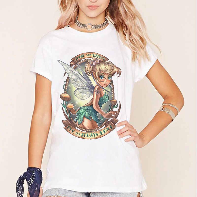 قميص صيفي ماركة تمبلر فوغ جرافيك مضحك تي شيرت هاراجوكو أولزانغ الأميرة الجمالية للمرأة ملابس نسائية تي شيرت عتيق