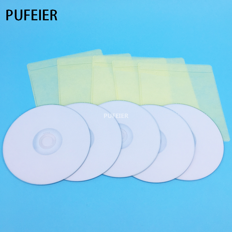 High Quality 700MB Storage Blank Printable CD-R Disc 80 Minutes Recording CD 5 Pcs/Lot Compatible For Epson Canon Inkjet Printer 30pcs lot inkjet printable blank pvc card for epson printer for canon printer