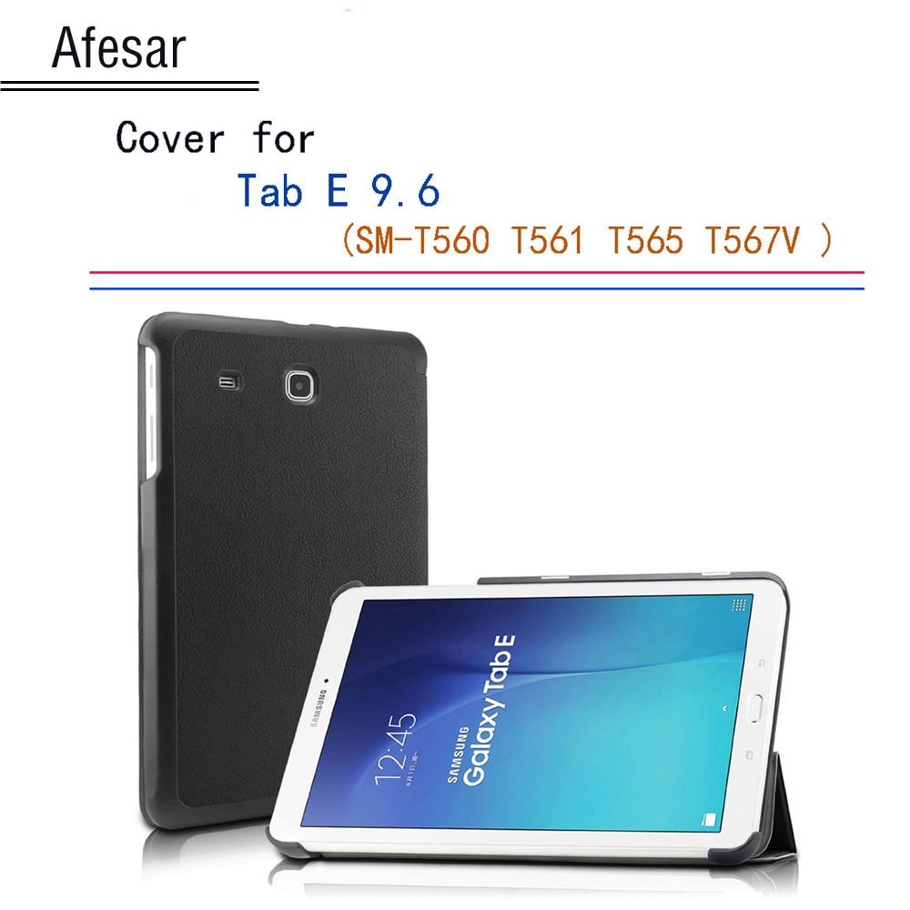 Tab E 9.6 SM-T560 Ultra жұқа магнитті смартфоны Samsung Tab E 9.6 корпусының қақпағы 9.6 Nook 9.6 T561 T565 SM-T567V тіреуіші