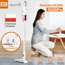 2019 New Xiaomi Deerma VC20S Vacuum Cleaner Auto-Vertical Handheld Cordless Stick Aspirator Vacuum Cleaners 5500Pa For Home Car