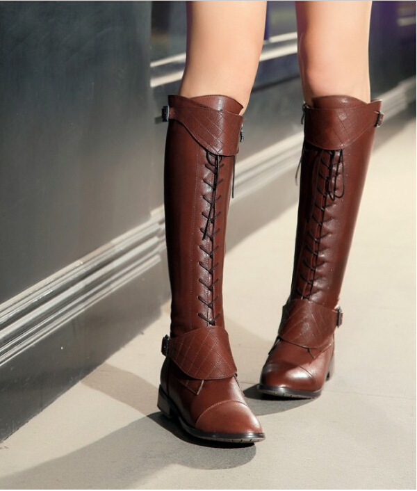 Popular Flat Boots Women-Buy Cheap Flat Boots Women lots from