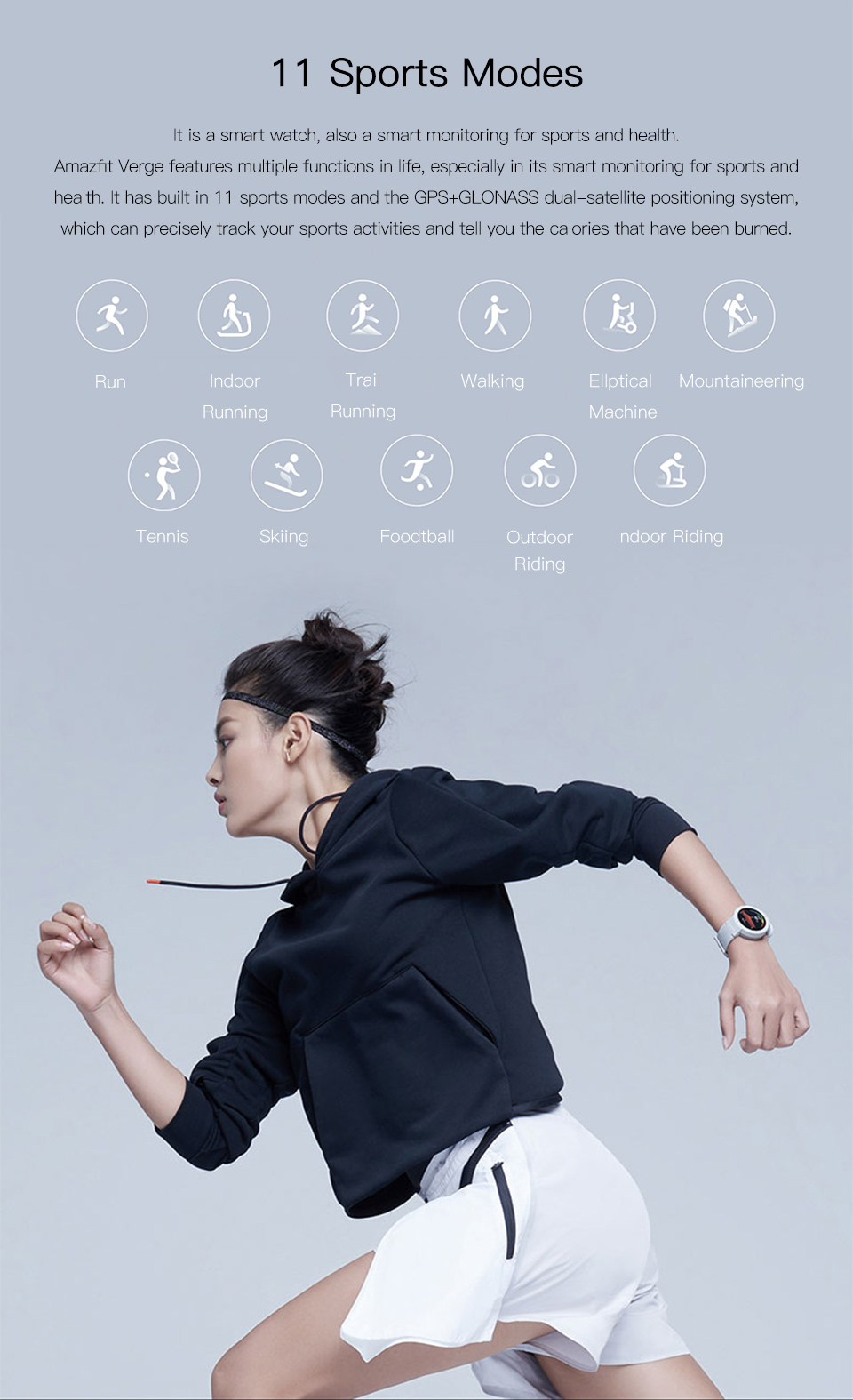 Unisex Smartwatch with sports modes and phone calling