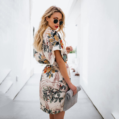 Printed ALine Mini Dresses...