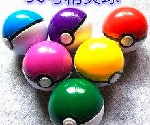 цена на 10Pieces/lot   Diameter:48mm Plastic Toy Capsule Egg Shell Ball Vending Machine Pocket Monster Doll Ball